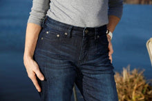 Load image into Gallery viewer, #222 River Curve Stretch - Deep Indigo Jean