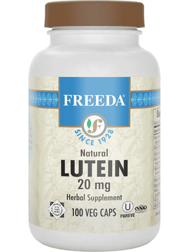 Lutein 20 mg - 100 Capsules - Freeda Health