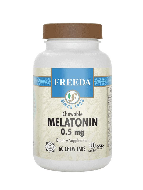Melatonin 0.5 mg - 60 Tablets - Freeda Health