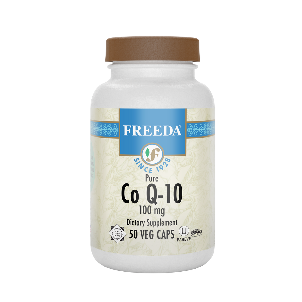 Coenzyme Q-10 100 mg - 50 Capsules - Freeda Health