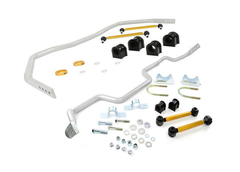 Whiteline Performance - Front and Rear Sway bar - vehicle kit (BFK005) BFK005