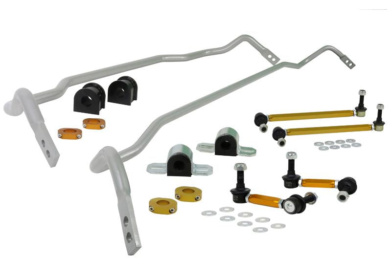 Whiteline Performance - Front and Rear Sway Bar - Vehicle Kit (BKK001) BKK001