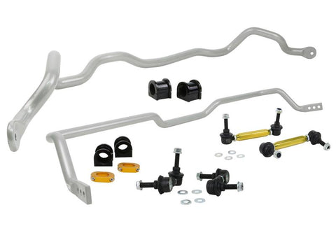 Whiteline Performance - Front and Rear Sway bar - vehicle kit (BMK009) BMK009