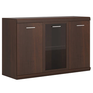 Imperial 3 Door Glazed Sideboard