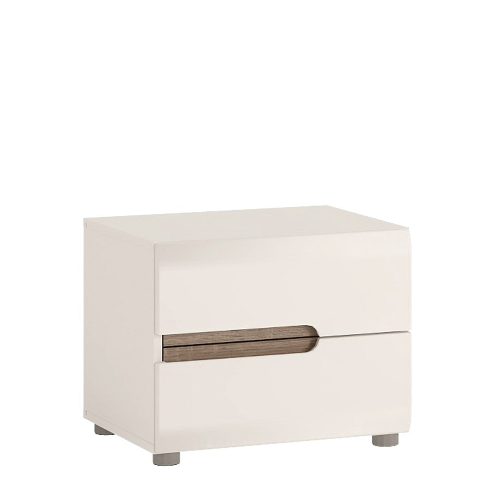 Chelsea 2 Drawer Bedside