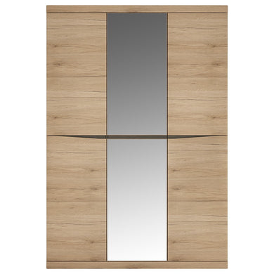 Kensington 3 Door Wardrobe with Centre Mirror door