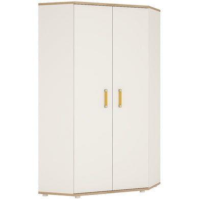 4Kids Corner Wardrobe Orange Handles