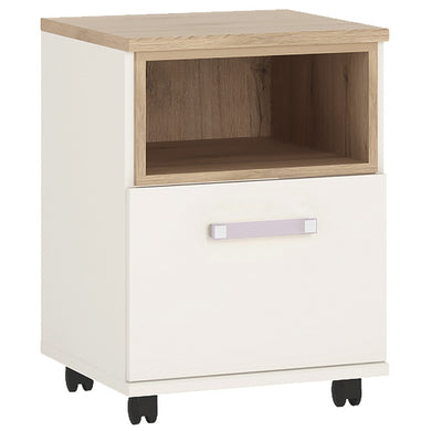 4Kids 1 Door Desk Mobile Lilac