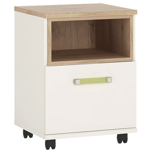 4Kids 1 Door Desk Mobile Lemon