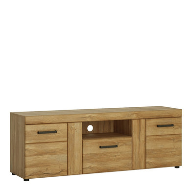 Cortina 2 door 1 drawer Tall TV cabinet