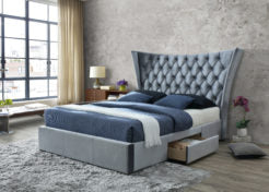 The Artisan 2 drawer fabric bed WT4560