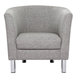 Cleveland Armchair in Nova Light Grey