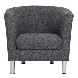 Cleveland Armchair in Nova Anthracite.