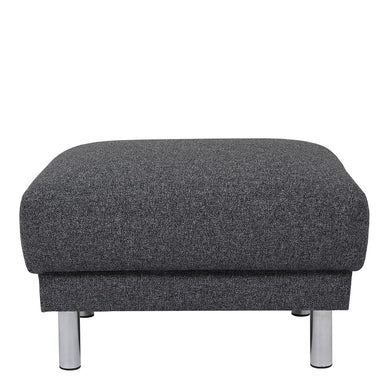 Cleveland Footstool in Nova Anthracite.