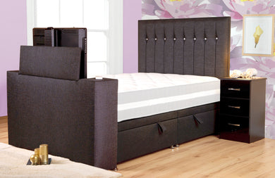 The Image Sparkle TV bed (4 drawer or side lift ottoman)