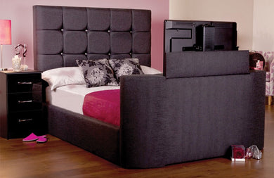 The Jasmine Adjustable bed (BUTTONED HEADBOARD)