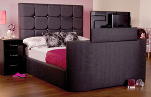 The Jasmine Adjustable bed (DIAMANTE HEADBOARD)