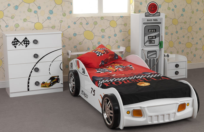 The Sonic car bed set (FREE matching bedset)