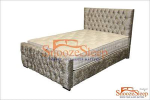 Tennessee Sleigh Bed (Diamantes)
