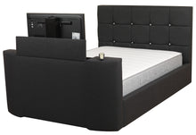 Load image into Gallery viewer, The Jasmine Adjustable bed (DIAMANTE HEADBOARD)