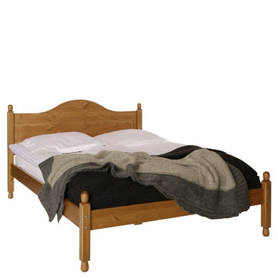 The Copenhagen 4'6 ft Double Bed Pine
