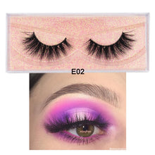 Load image into Gallery viewer, Luxury Handmade Reusable Natural Eyelashes