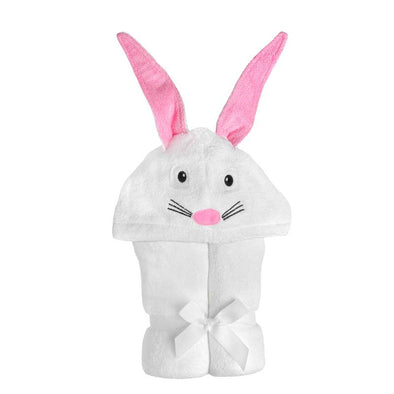 Bunny Hooded Towel - Yikes Twins