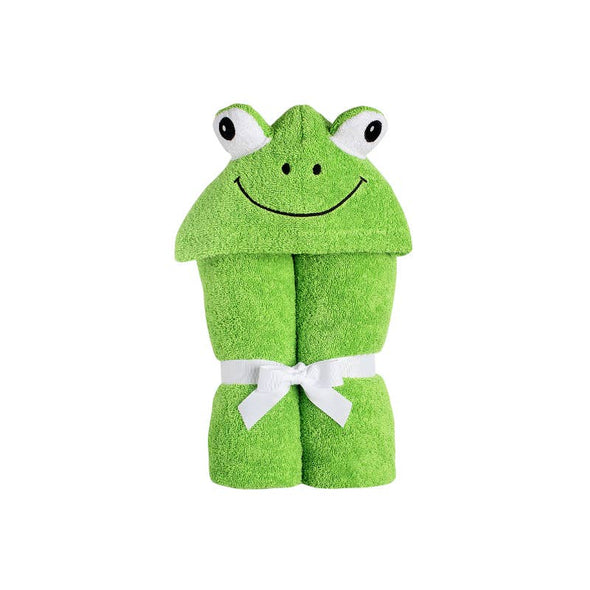 Frog Hooded Towel - Yikes Twins