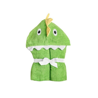 Dinosaur Hooded Towel - Yikes Twins