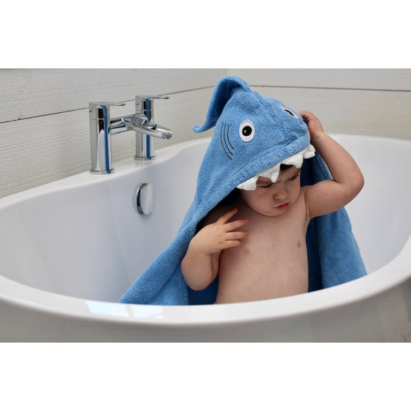 Shark Hooded Towel - Yikes Twins