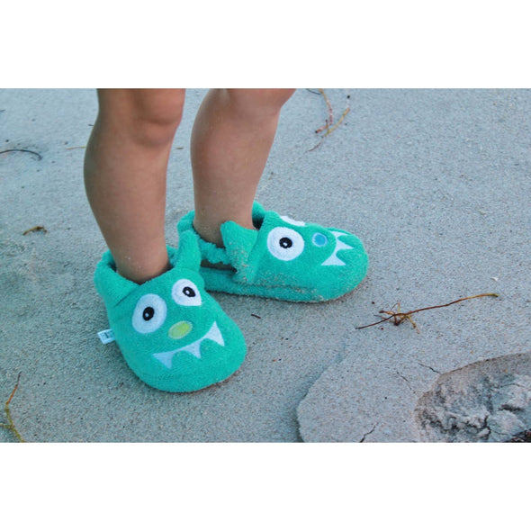 Monster - Turquoise Slipper  - Yikes Twins