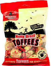 Walkers Nutty Brazil toffees 150g