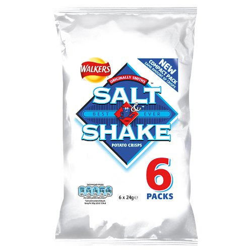 Walkers Salt & Shake 6 Pack - BritShop
