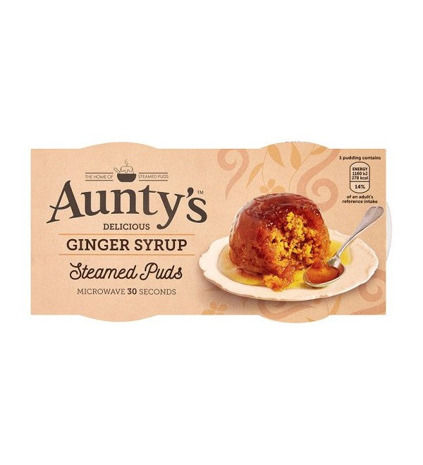 Aunty's Ginger Syrup Pudding 200g
