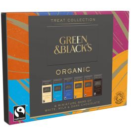 Greens & Blacks Organic Treat Collection 90g