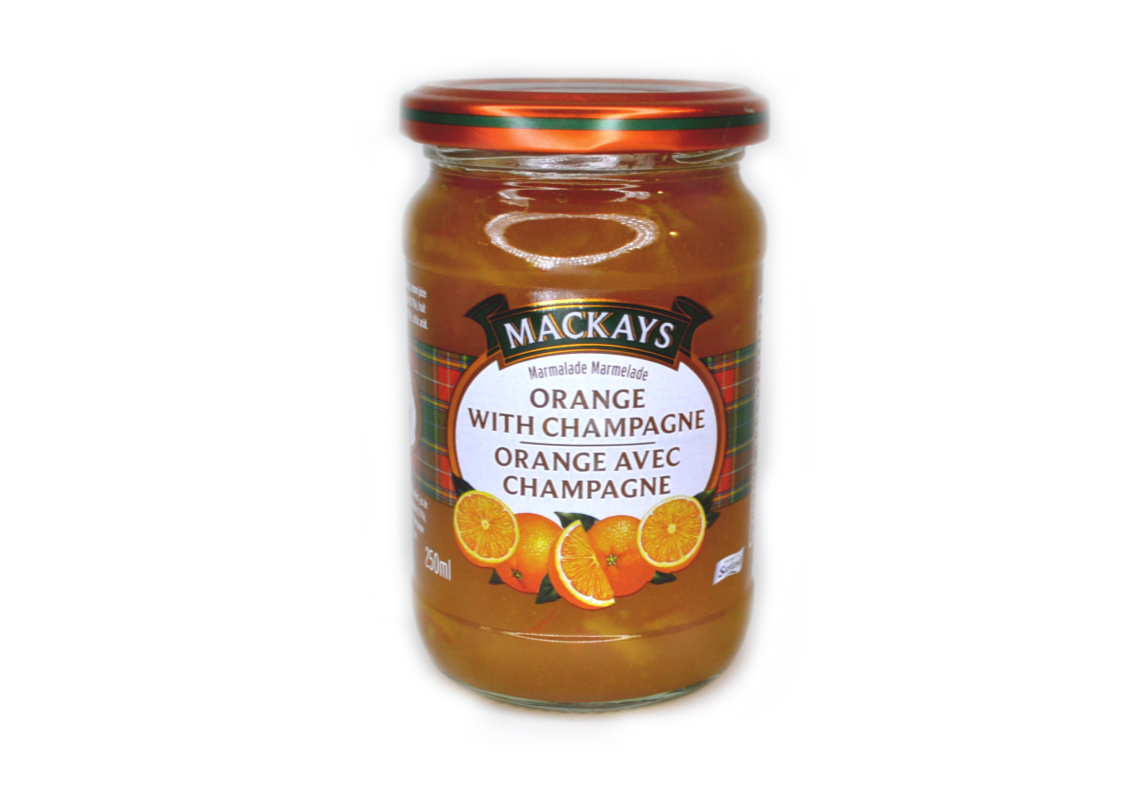 Mackays Orange & Champagne 250ml