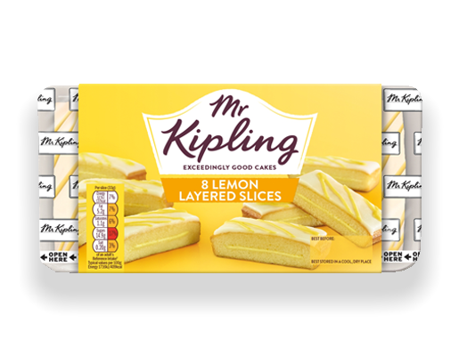 Mr Kipling Lemon Slices (8)