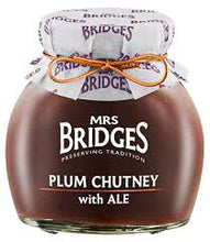 Mrs Bridges Plum with ale Chutney 290g