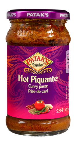 Pataks Hot Curry Paste 284ml