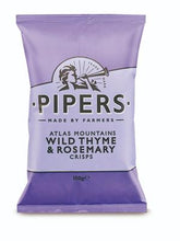 Pipers Crisps Wild Thyme & Rosemary 150g