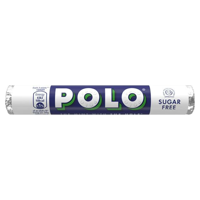 Polo Mints Roll Sugar Free 33.4g