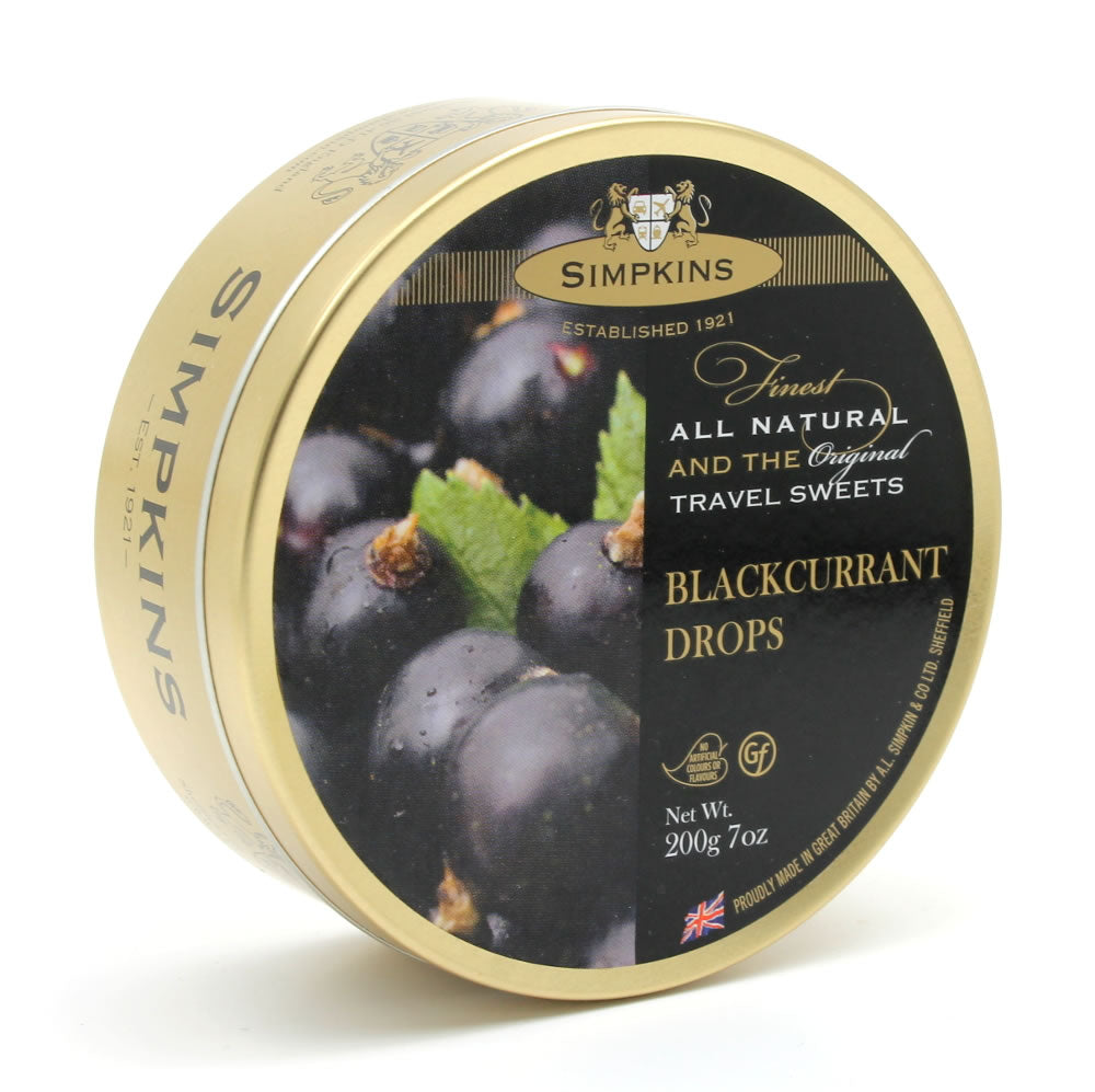 Simpkins Blackcurrant Drops 200g