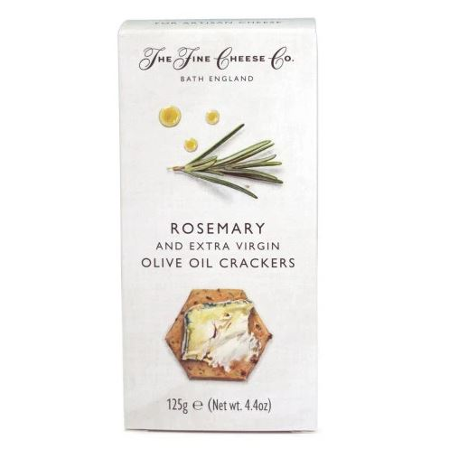 The Fine Cheese Co. Rosemary & Olive Oil Crackers 125g