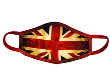 Face Mask British Flag Vintage