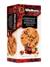 Walkers Chocolate Chunk & Hazelnut 150g