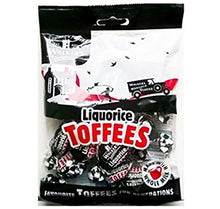 Walkers Liquorice Toffee 150g