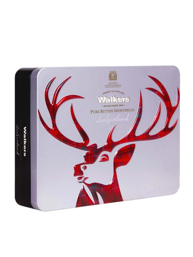Walkers Shortbread Stag Tin 150g