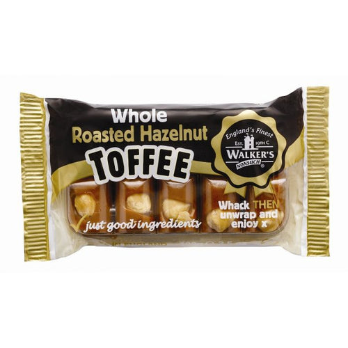 Walkers Toffees Hazelnut Block 100g