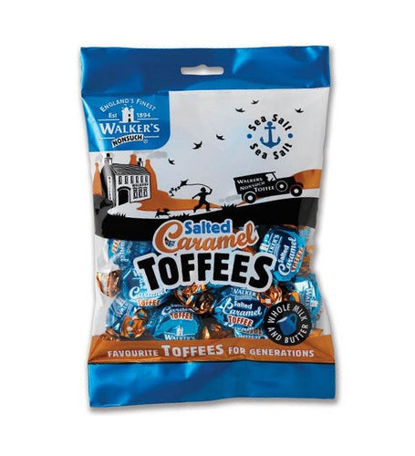 Walkers Toffees Salted Caramel 150g