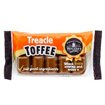 Walkers Toffees Treacle Block 100g